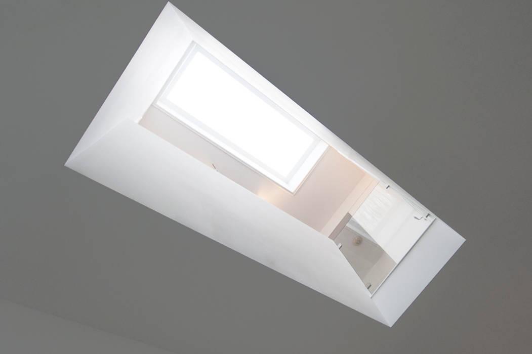 Vide In Hal : Interieur dubbele bovenwoning met vide gang hal trappenhuis