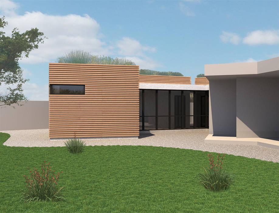 Model 3D: Maisons de style  par MAURO LOMBARDO ARCHITECTE