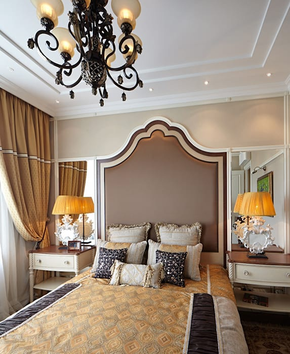 СПАЛЬНЯ Спальня в классическом стиле от Bituleva Project Классический