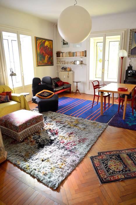 Lo Studio - Salottino: Studio in stile in stile Eclettico di Studio Fori
