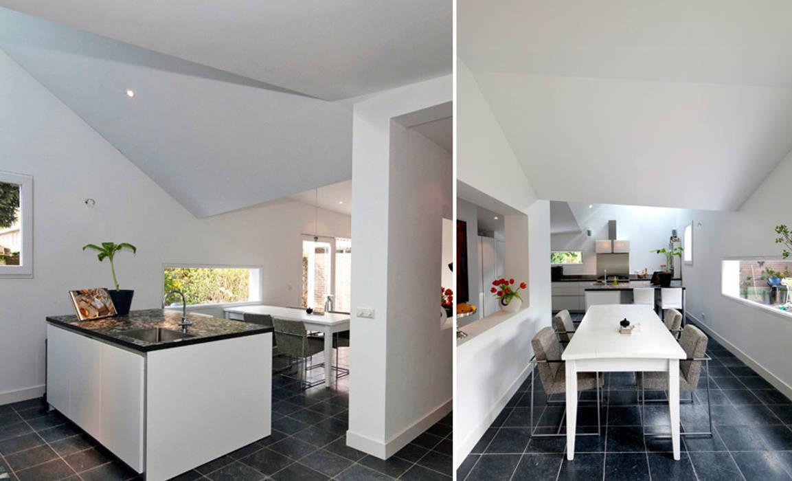 Modern kitchen by richel lubbers architecten homify