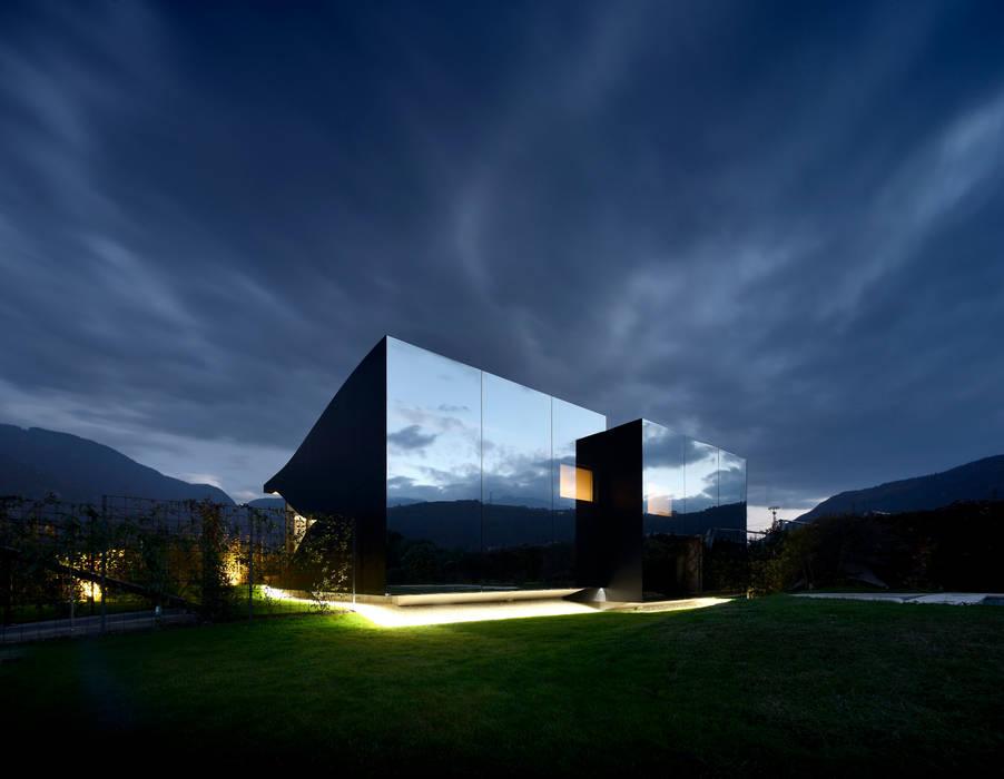 Mirror Houses Minimalist Evler Peter Pichler Architecture Minimalist