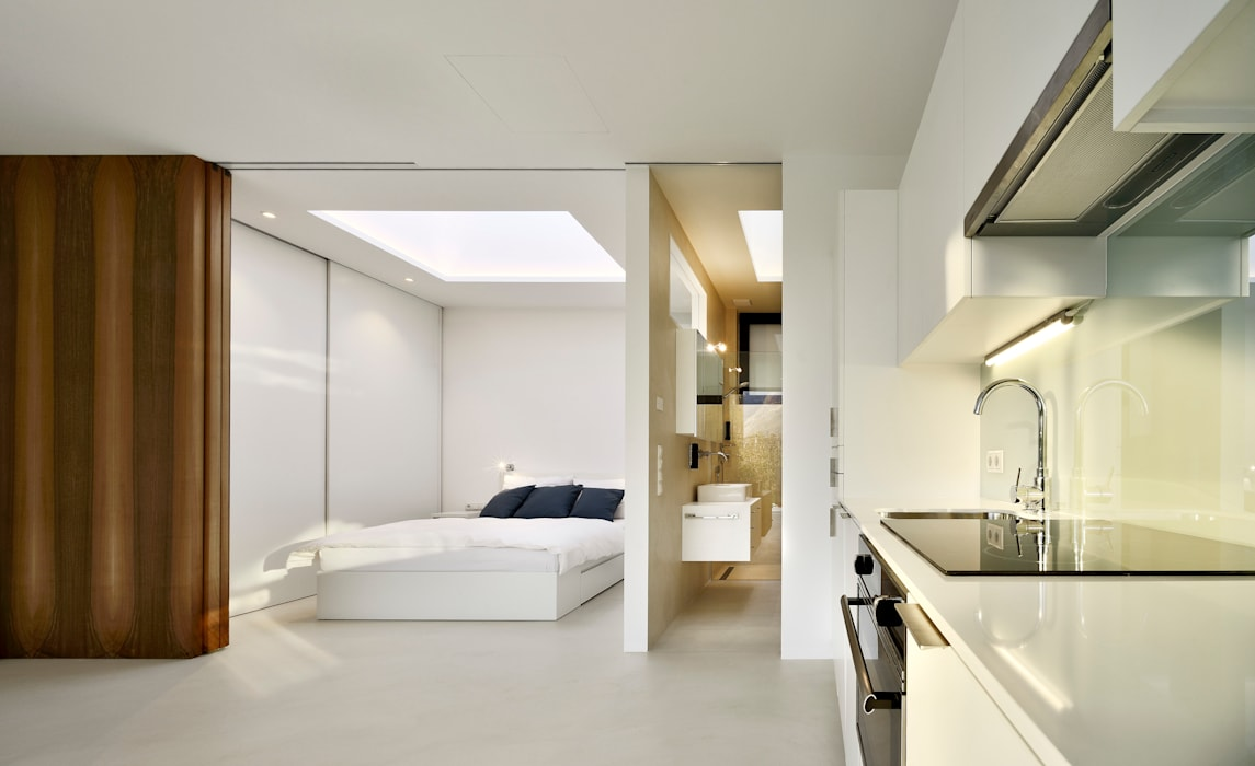 Mirror Houses โดย Peter Pichler Architecture มินิมัล