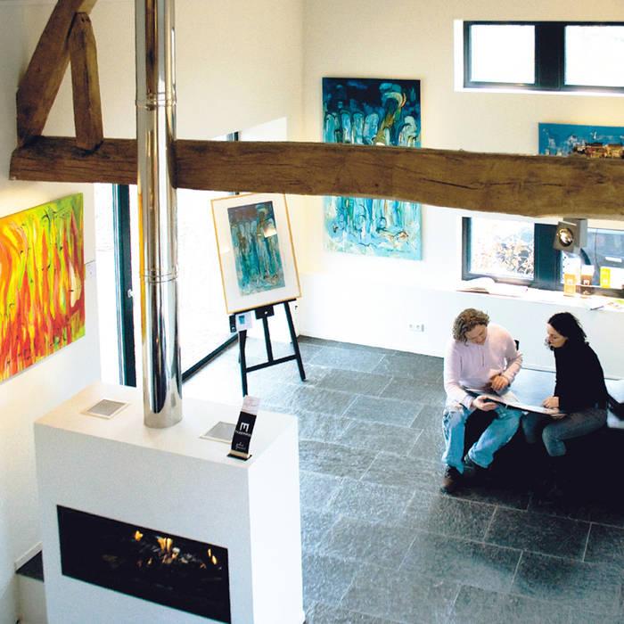 Living room by SeC architecten, Modern