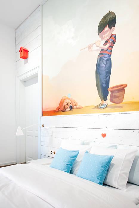 Komplet Pościeli Alaska: styl , w kategorii Sypialnia zaprojektowany przez Lilla Sky