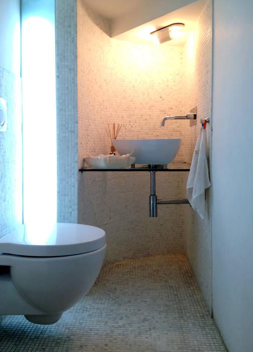 La villa di paola bagno in stile di archenjoy studio homify - Bagno la villa pinarella ...