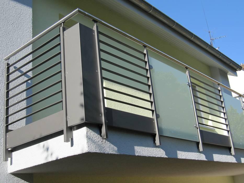 Balkongelander Stahl Aluminium Glas Hauser Von Architekturburo