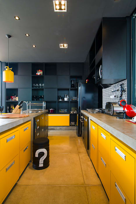 Kitchen by Bruno Rubiano, Modern