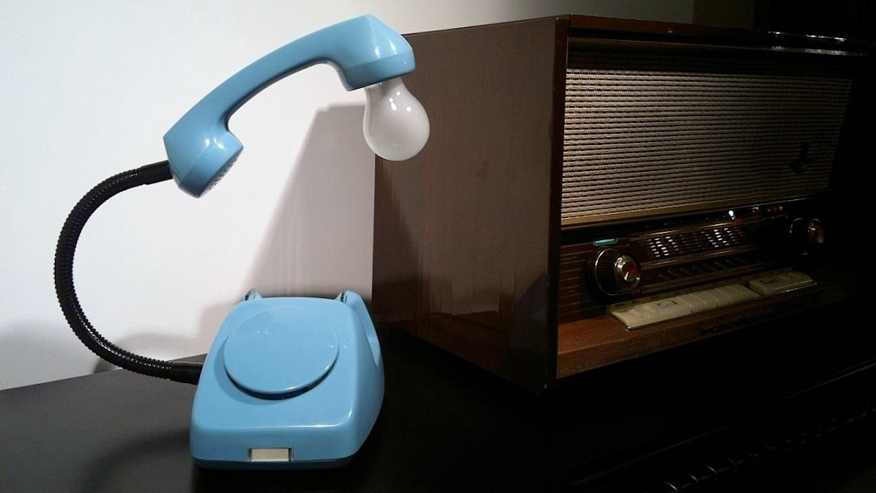 teleLAMPAfon - Bló od RefreszDizajn Nowoczesny