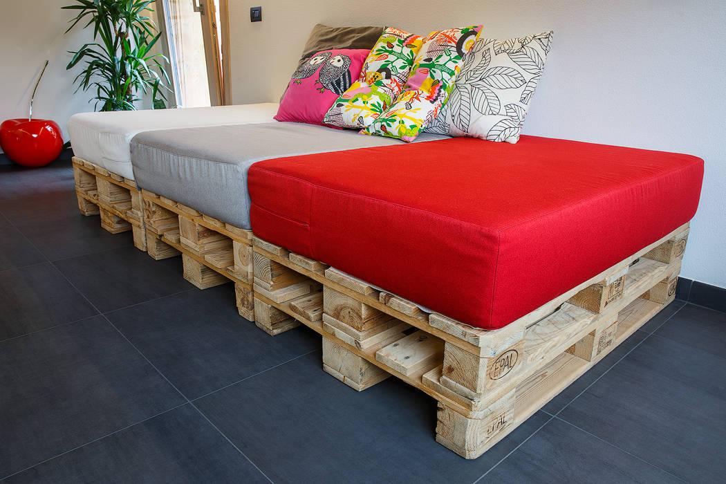 Jc's house: soggiorno in stile di bearprogetti ...