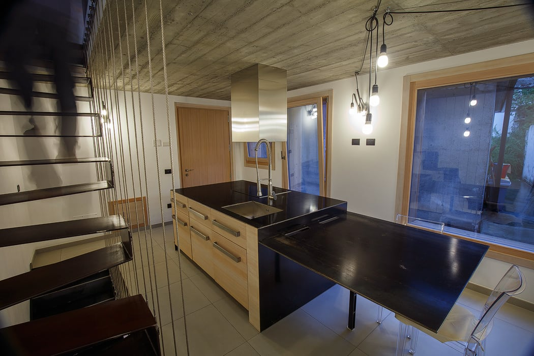 BEARprogetti - Architetto Enrico Bellotti Minimalistische Küchen