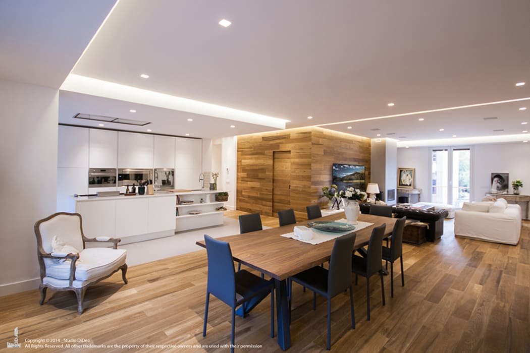 Appartamento #A76 Cucina moderna di Studio DiDeA architetti associati Moderno