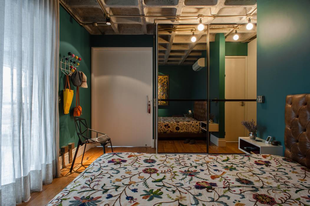 Industriale Schlafzimmer von PM Arquitetura Industrial