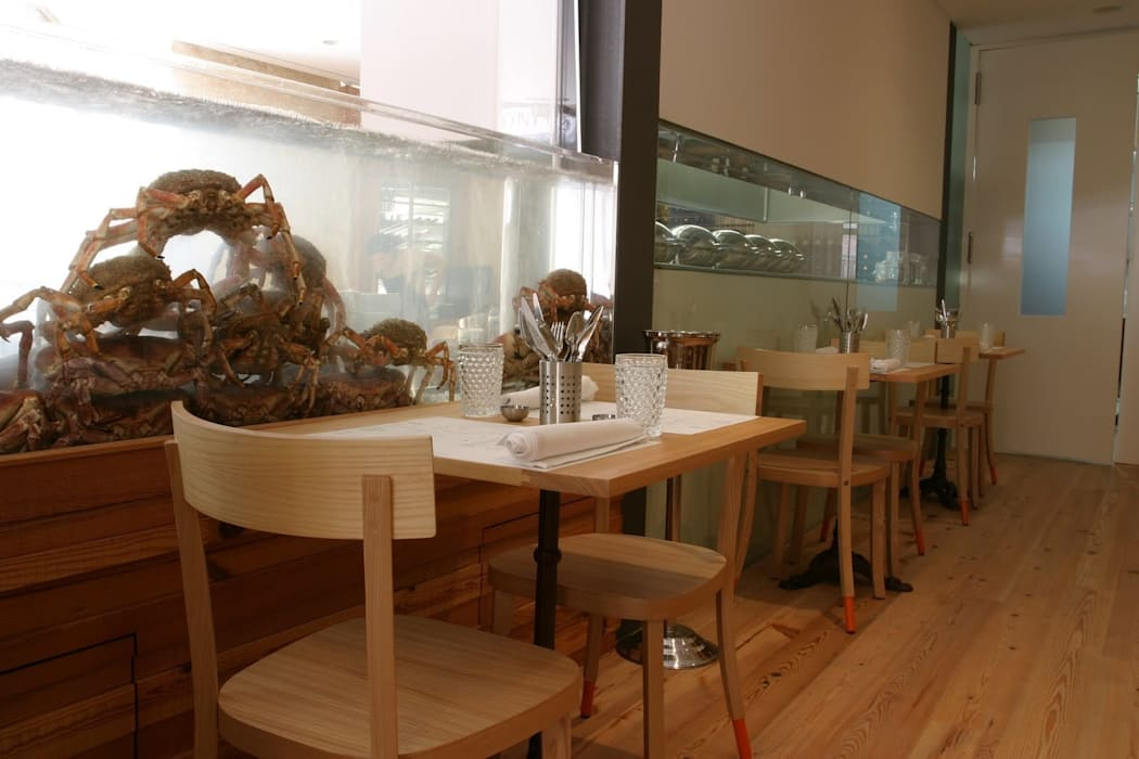 Aquários Espaços de restauração escandinavos por adoroaminhacasa Escandinavo Vidro