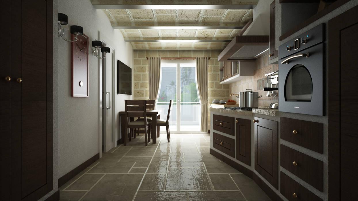 Cozinhas  por De Vivo Home Design, Mediterrânico