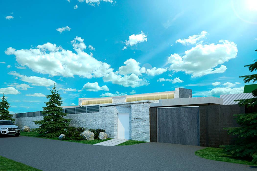 Частная усадьба #001 Дома в стиле модерн от Cntez Модерн