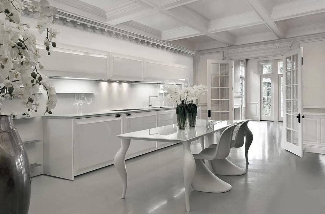 Cocinas de estilo  por erenyan mimarlık proje&tasarım, Minimalista
