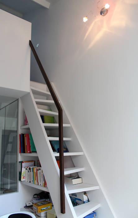 Oficinas de estilo moderno de Atelier d'architecture Pilon & Georges Moderno