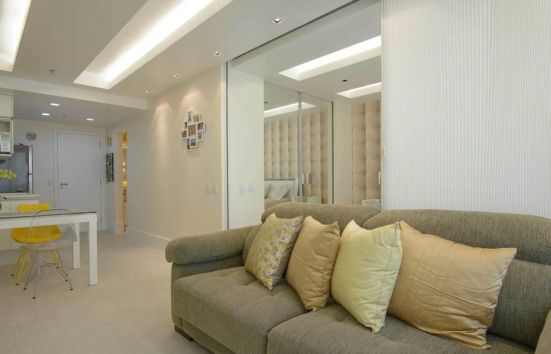 Sala de Estar Integração Parcial Salas de estar modernas por fpr Studio Moderno
