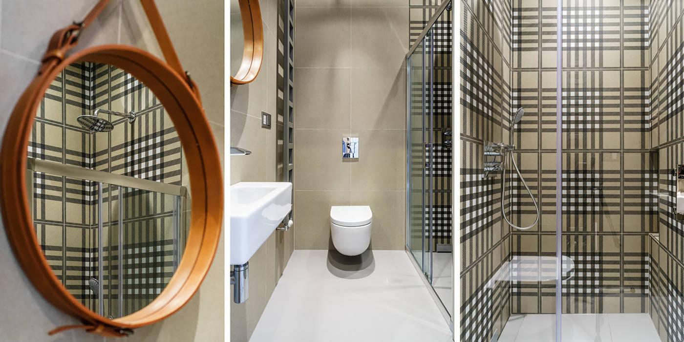 łazienka Nowoczesna łazienka od Anna Maria Sokołowska Architektura Wnętrz Nowoczesny
