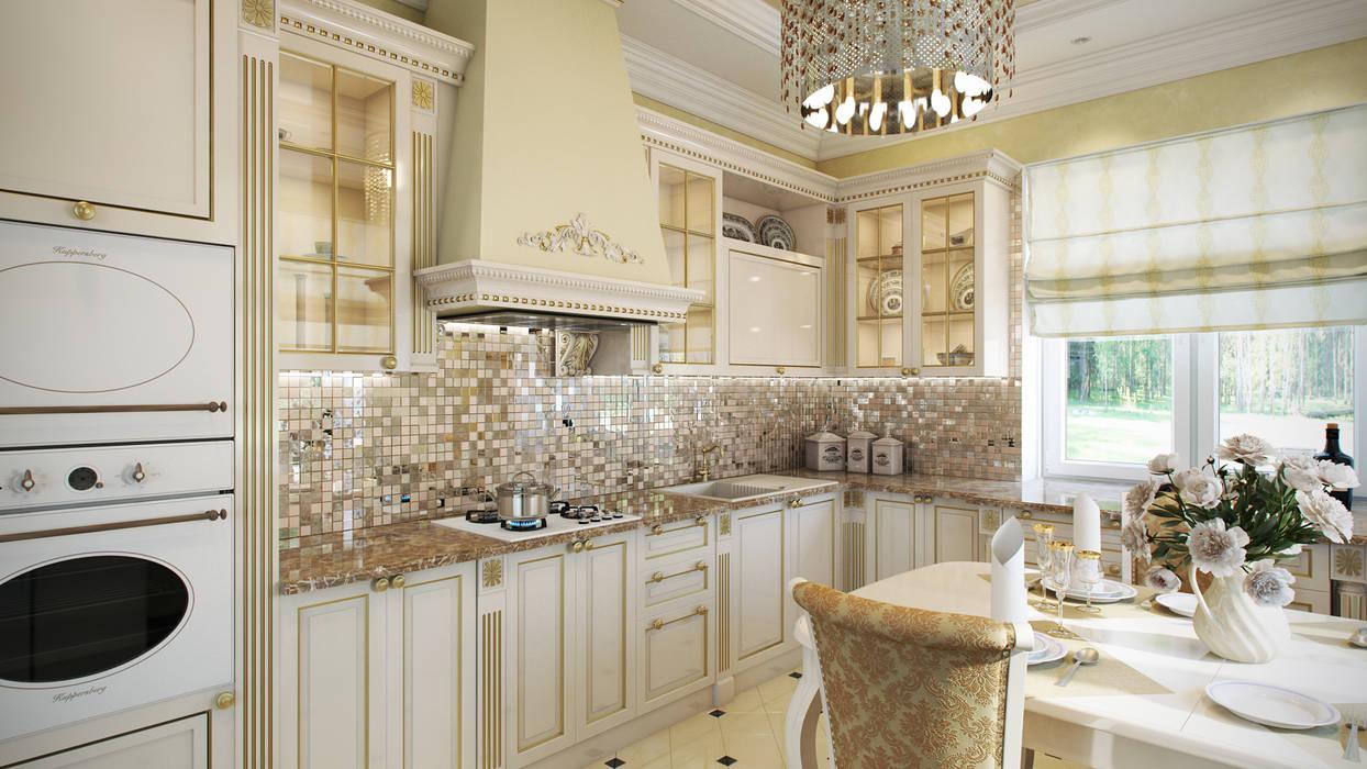 Дом Кухня в классическом стиле от Мастерская дизайна ЭГО Классический