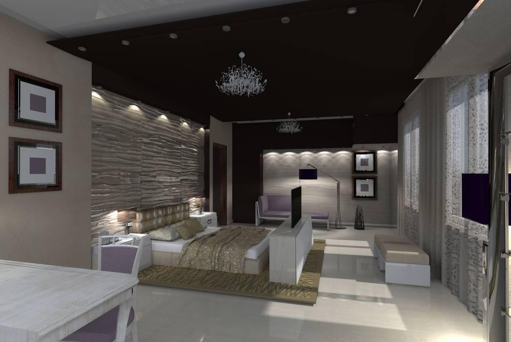 Дом: Спальни в . Автор – Мастерская дизайна ЭГО