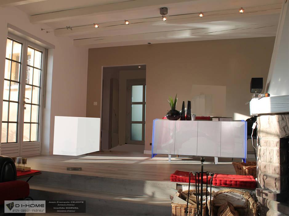 salle à manger: Salle à manger de style de style Moderne par Agence ADI-HOME