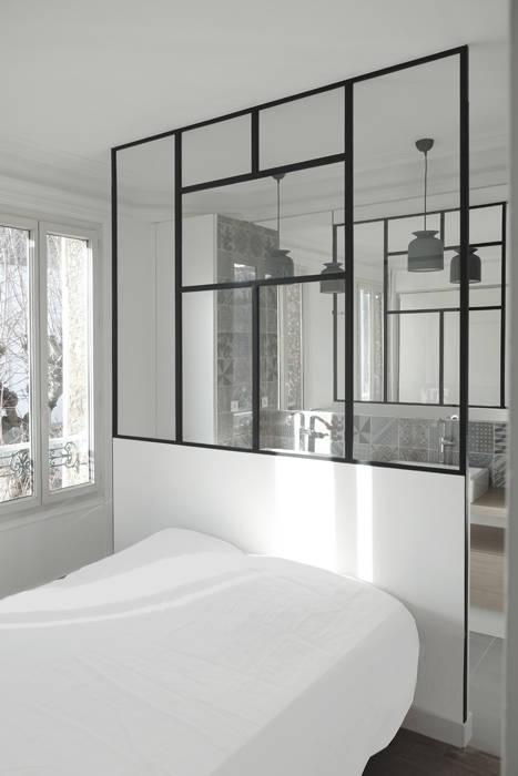 Minimalist bedroom by Yeme + Saunier Minimalist