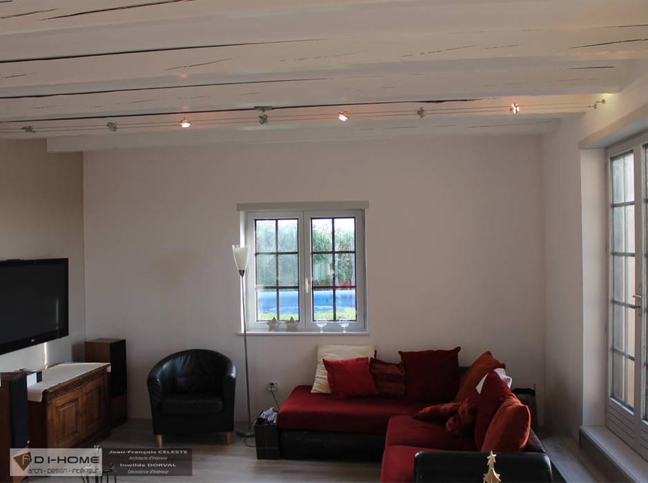 salon: Salon de style de style Moderne par Agence ADI-HOME
