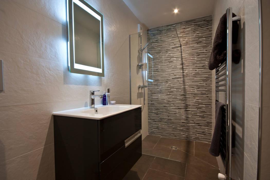 Chalet les chantéls: sdb 6: salle de bains de style par ...