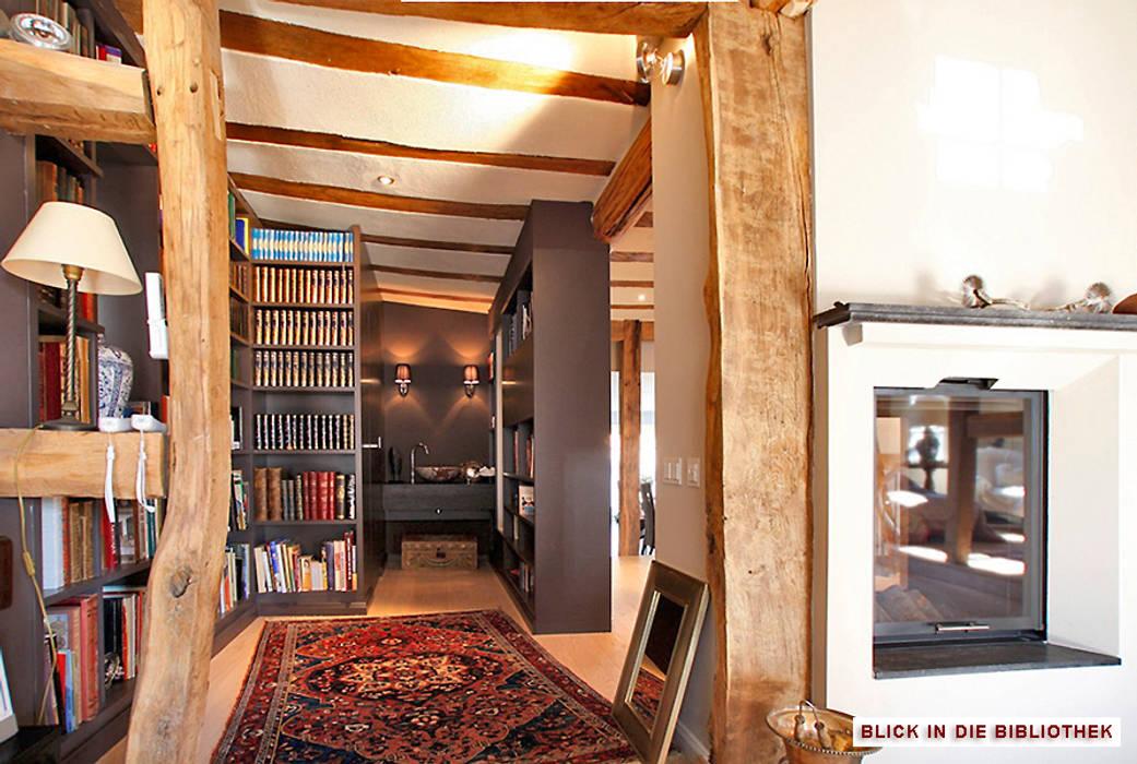 Umbau/Sanierung denkmalgeschütztes Wohnhaus, Kronberg i.Ts. Koloniale Arbeitszimmer von Architekturbüro Hans-Jürgen Lison Kolonial
