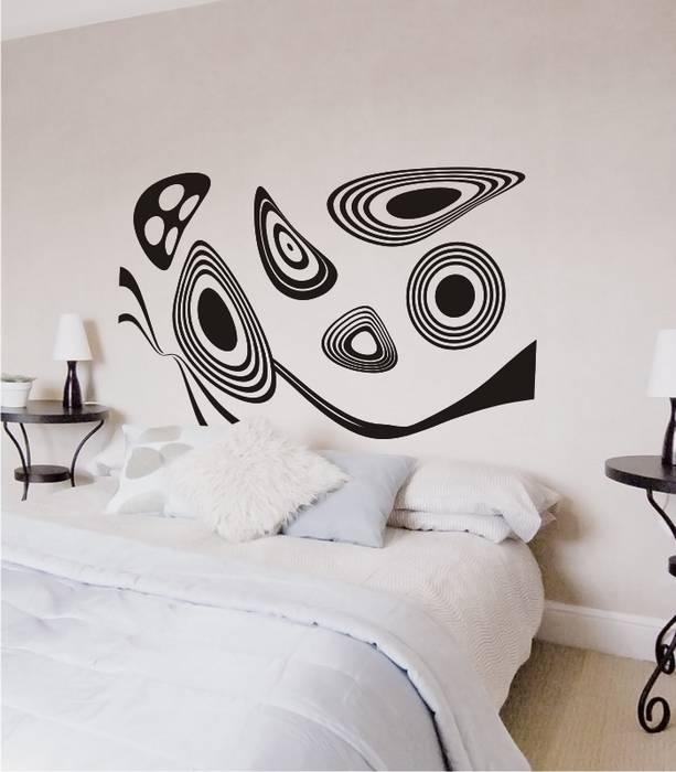 Vinilo decorativo moderno para cabecero cama dormitorios - Vinilo cabecero cama ...