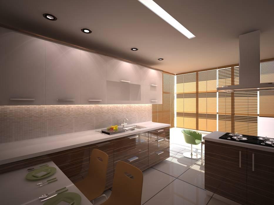 Modern Kitchen by İki İç Mimar Modern