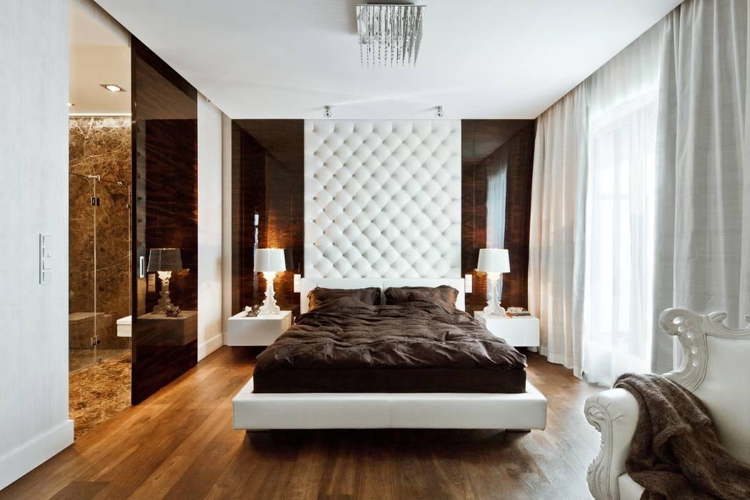 Sypialnia elegancka i ponadczasowa.: styl , w kategorii Sypialnia zaprojektowany przez living box