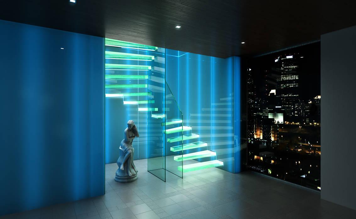 GHOST - Rendering: modern  von Siller Treppen/Stairs/Scale,Modern