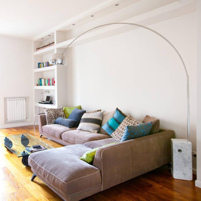 Moderne Wohnzimmer von DFG Architetti Associati Modern