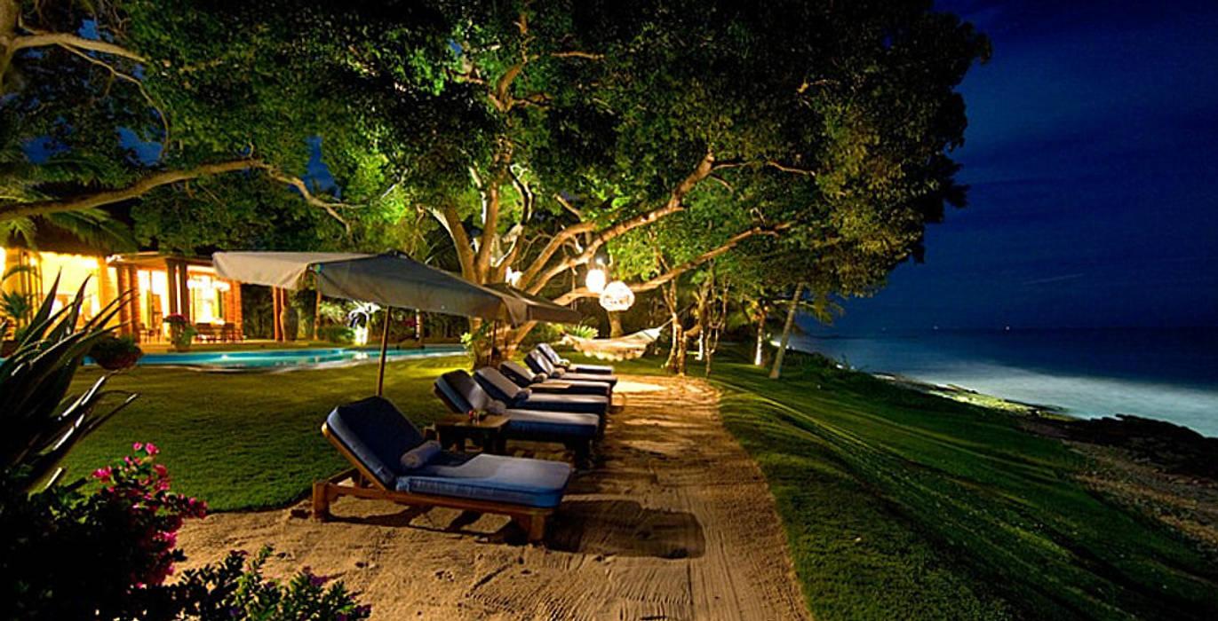 Rancho 3 Jardines tropicales de BR ARQUITECTOS Tropical