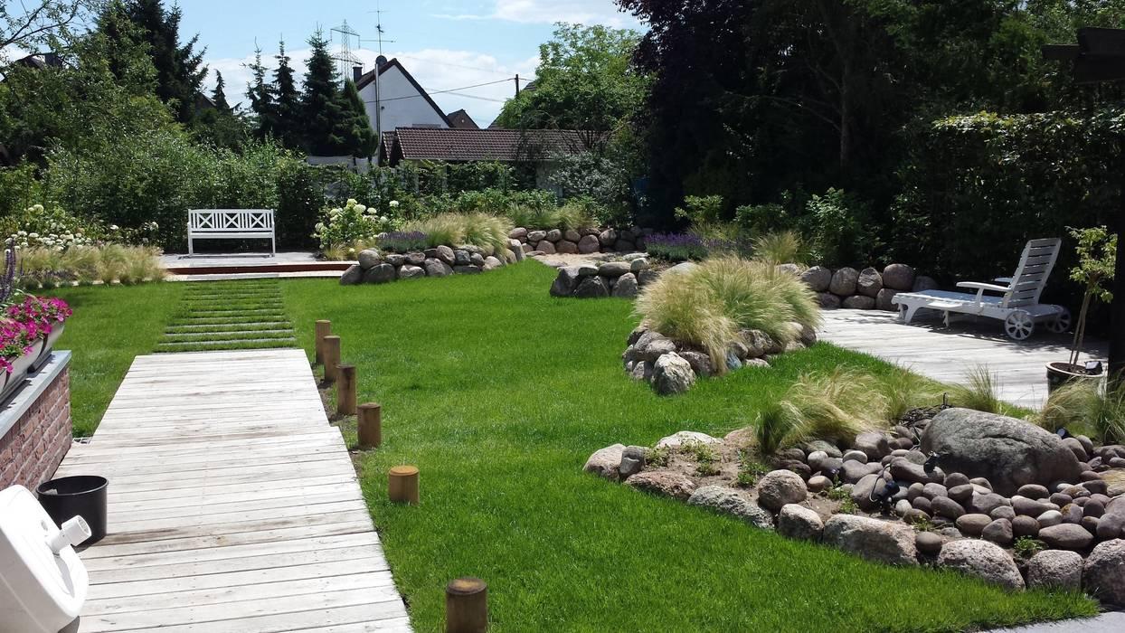 Sylter Garten Moderner Garten von SUD[D]EN Gärten und Landschaften Modern