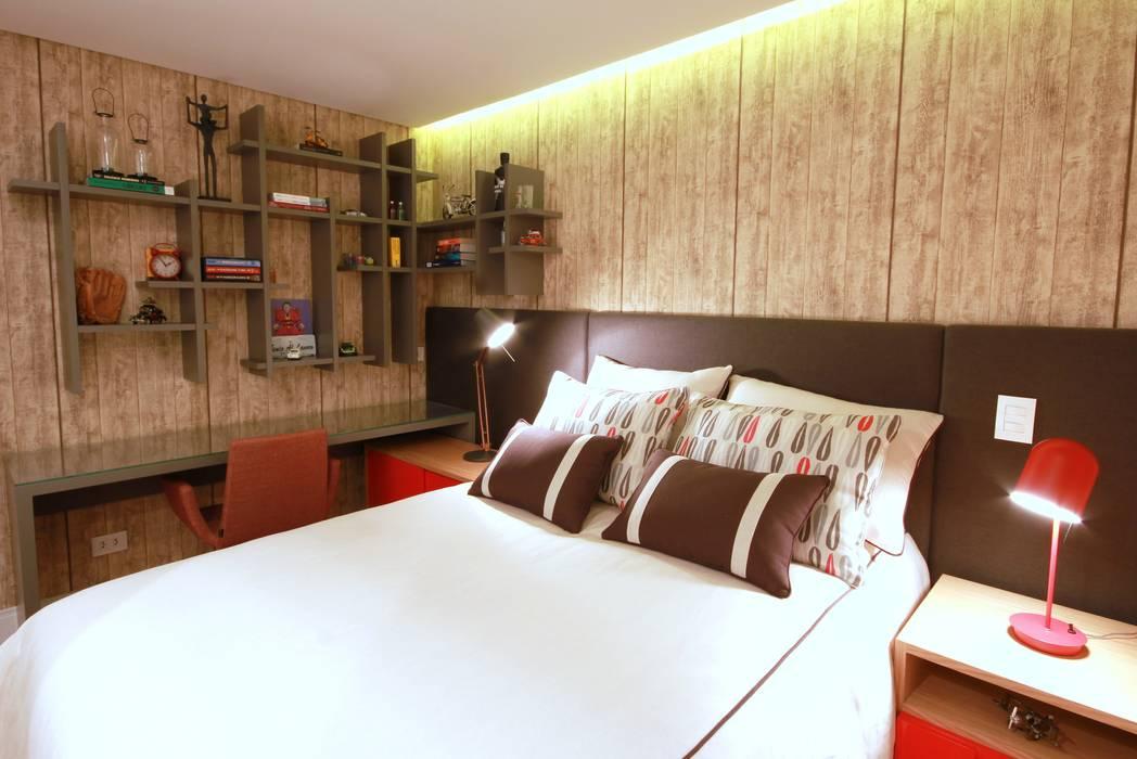 Chambre moderne par MeyerCortez arquitetura & design Moderne