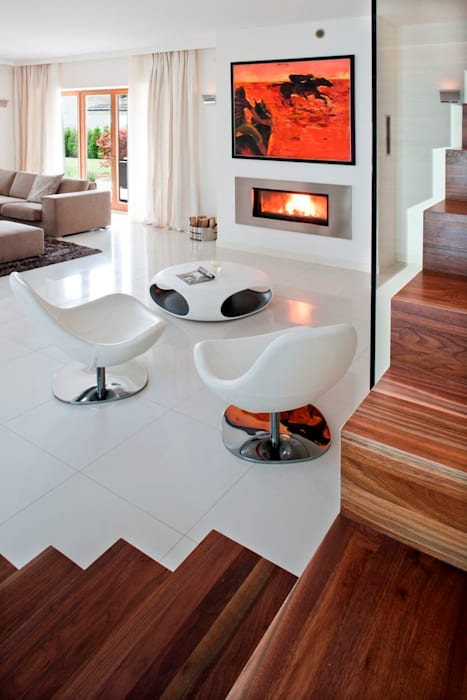 Salon: styl , w kategorii Salon zaprojektowany przez living box