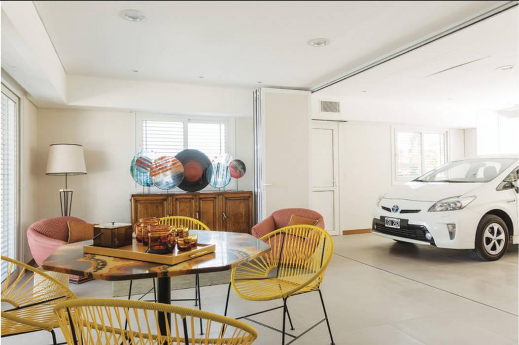 La Casa G: The Sustainable House in Argentina. Comedores de estilo moderno de La Casa G: La Casa Sustentable en Argentina Moderno