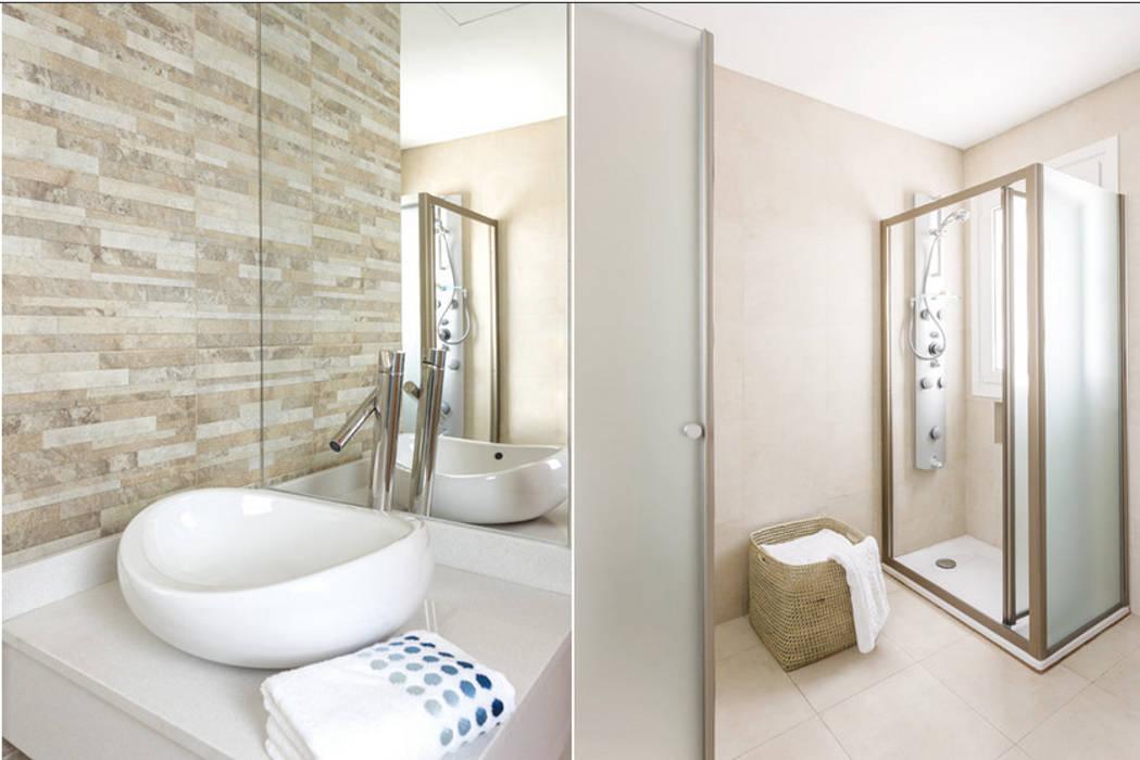 Baños de estilo  por La Casa G: La Casa Sustentable en Argentina, Moderno