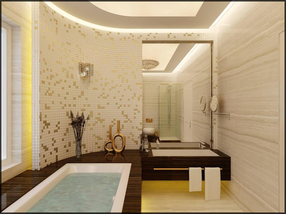 Nuevo Tasarım – Suit banyo:  tarz Banyo, Modern