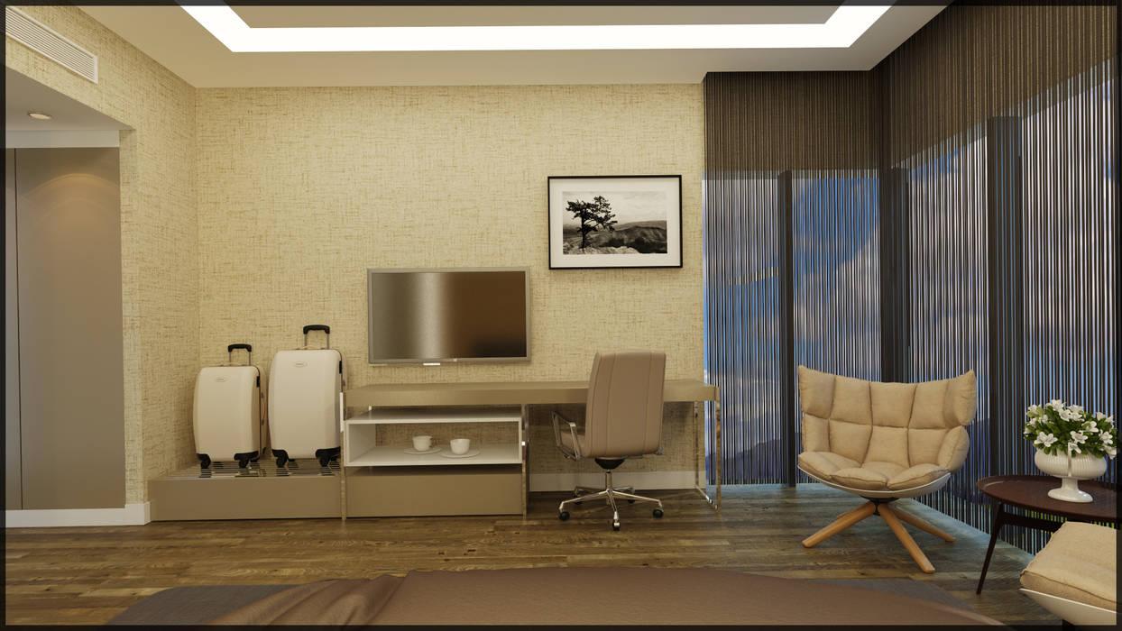 Nuevo Tasarım – Misafir yatak odası:  tarz Yatak Odası, Modern