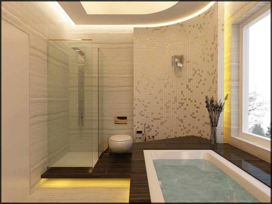 Nuevo Tasarım – Suit banyo:  tarz Banyo