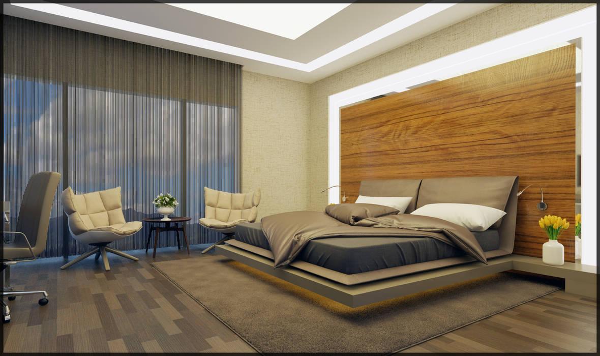 Misafir yatak odası Modern Yatak Odası homify Modern