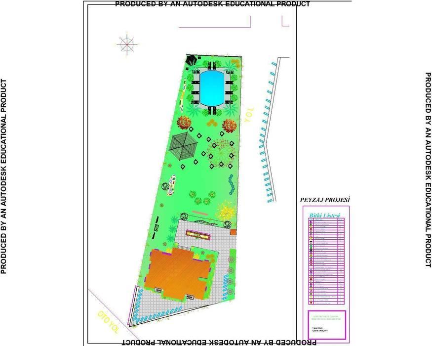 Çisem Peyzaj Tasarım – Sapanca-Kırkpınar :  tarz Oteller, Tropikal