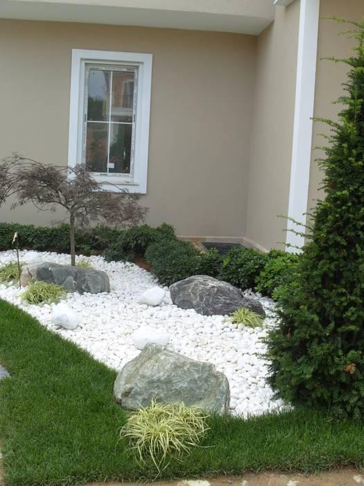 İstanbul-Göktürk Modern Bahçe Çisem Peyzaj Tasarım Modern
