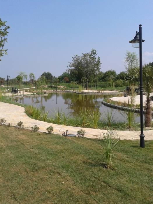 Sakarya 1.Organize Sanayi Bölgesi Müdürlük Binası bahçesi Peyzaj Uygulaması Çisem Peyzaj Tasarım Modern