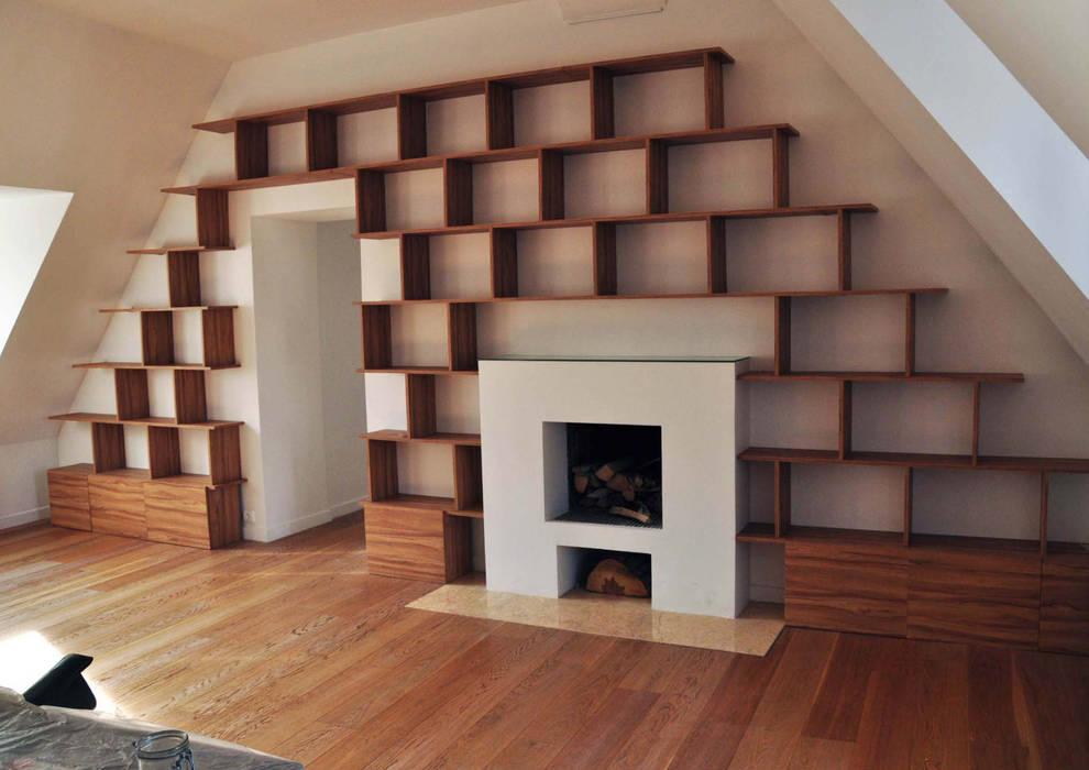 bureau: Bureau de style de style Moderne par officine TNT Architecture